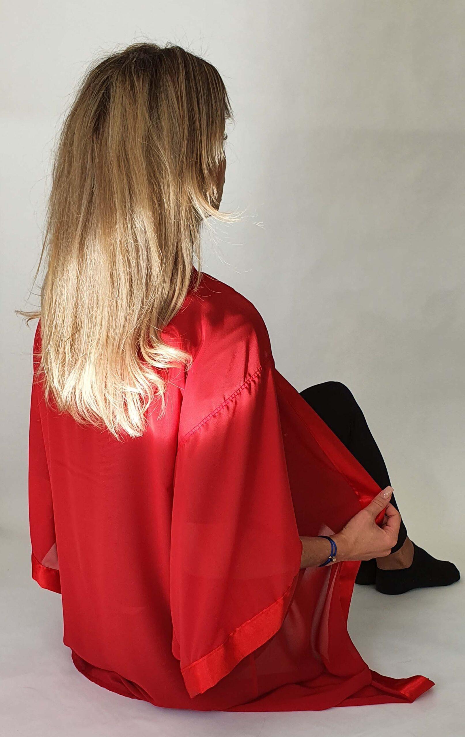 kimono reve rouge