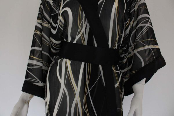dames kimono fil d'or