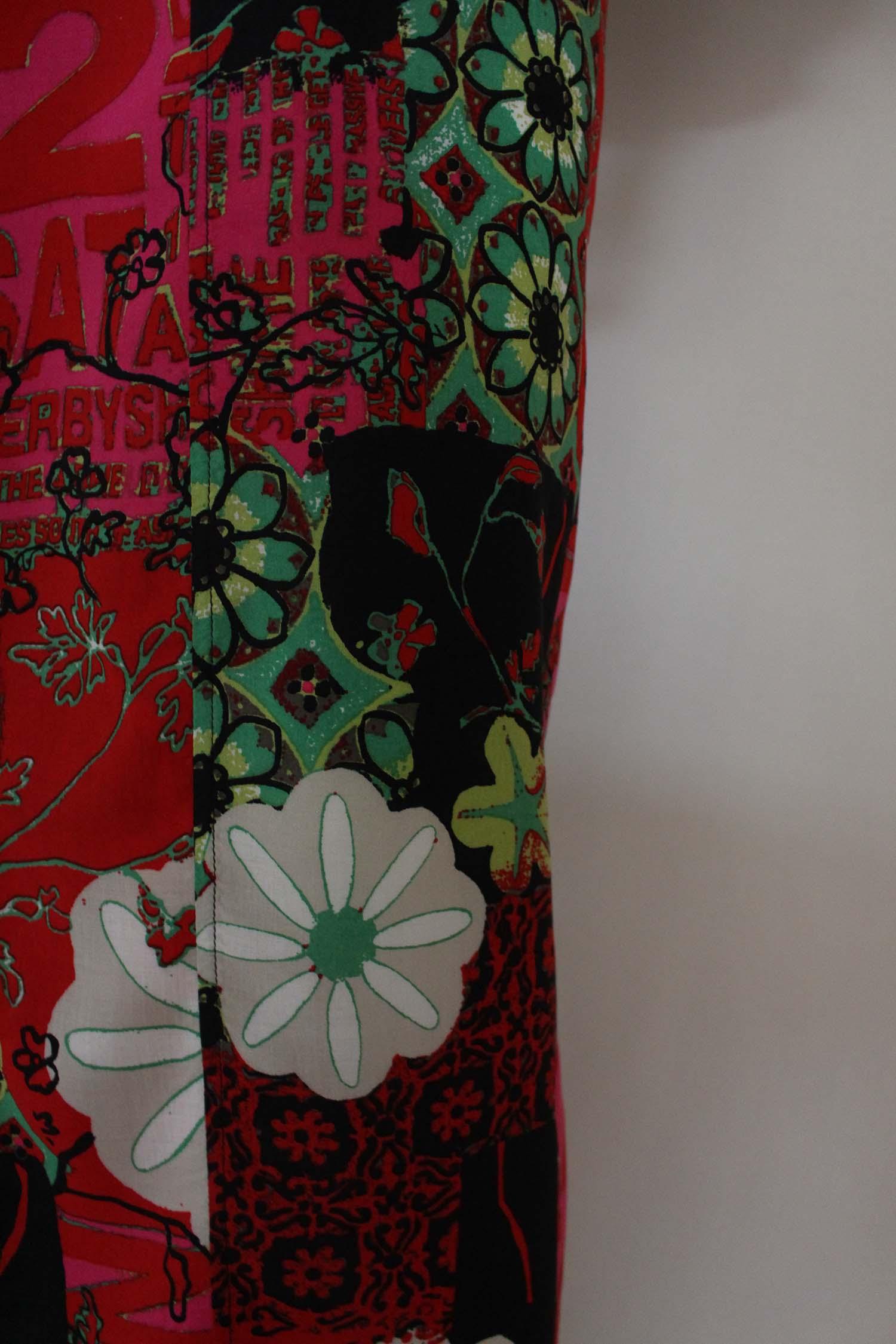 dames kimono katoen en satijn