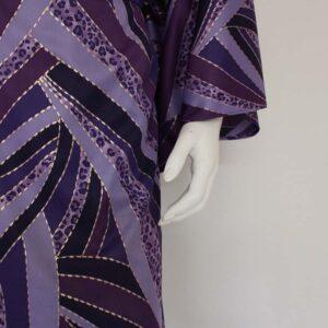 dames kimono vague violette